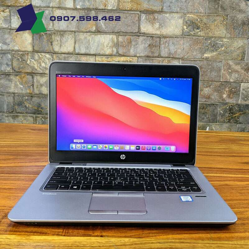 HP Elitebook 820 G3 - CPU i5 6300U | RAM 8Gb | SSD 128Gb + HDD 500Gb | 12.5 Inch HD