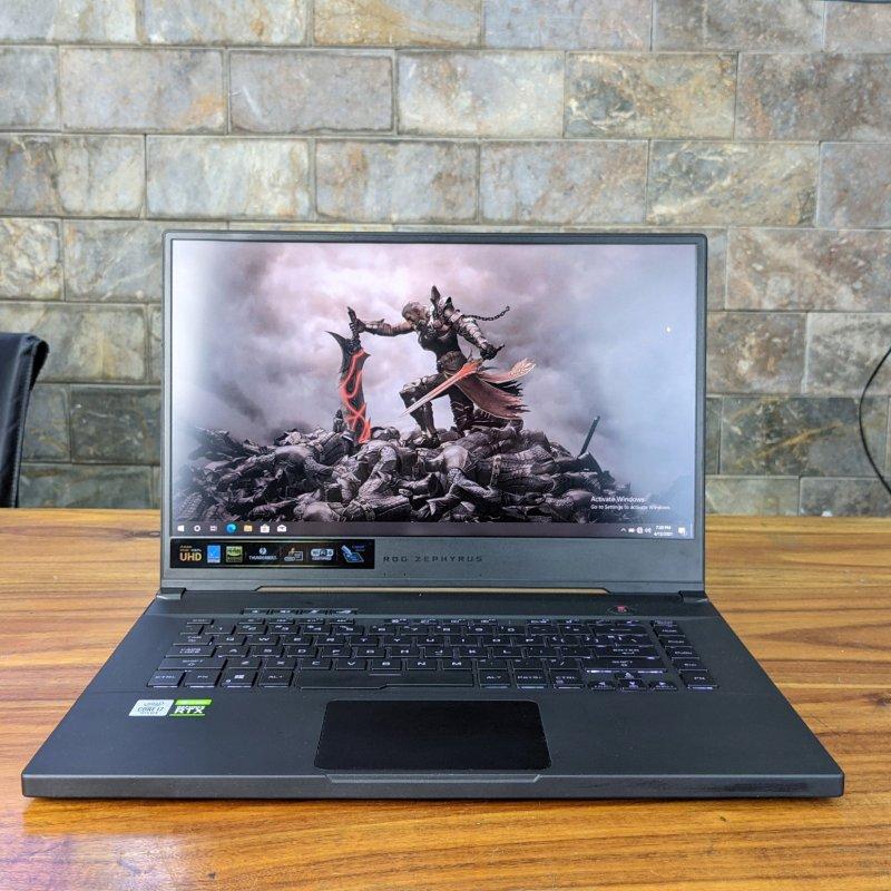 Asus Zephyrus M15 GU502L có màn hình siêu nét 4k