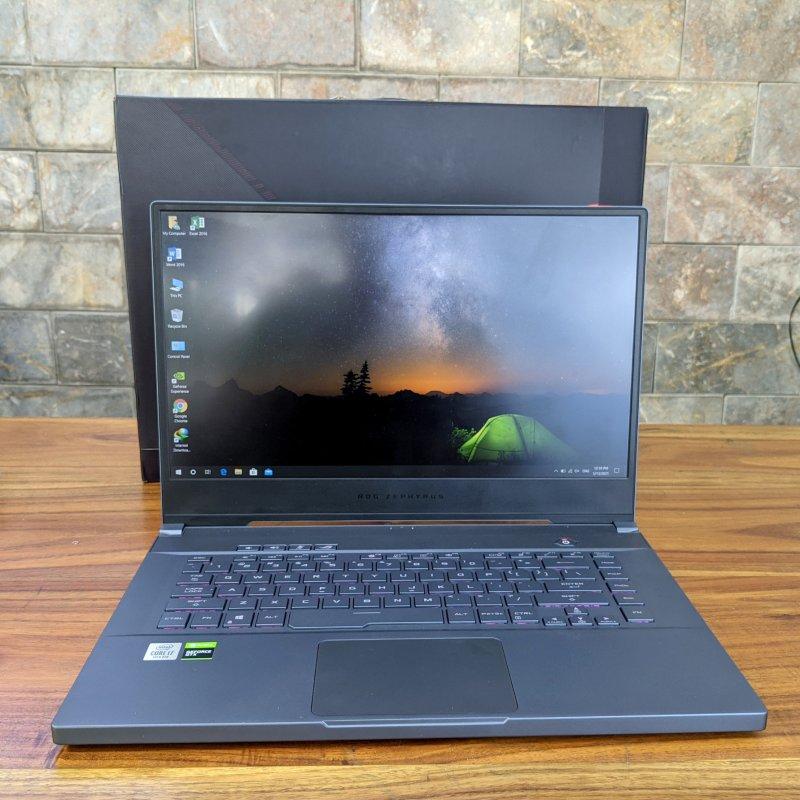Asus ROG Zephyrus M15 GU502L laptop gaming mạnh mẽ với ngoại hình nhỏ gọn